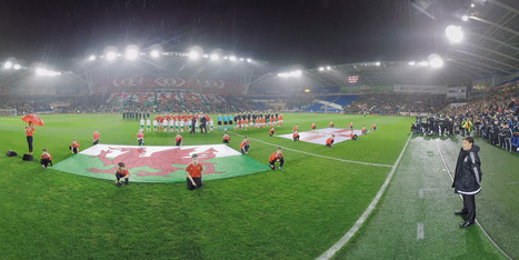 Wales Football 360 Video VR Experience - Cardiff - 360 Soccer   Social media for Museums   Scoop.it