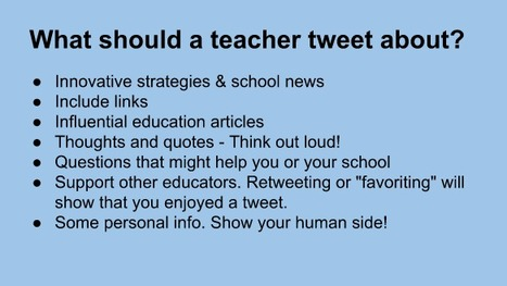 Social Media in Education | Simple Tips for Teaching with Technology | Scoop.it