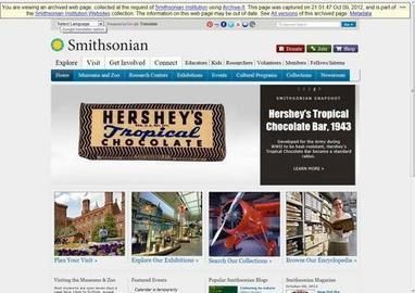 Smithsonian Now Using Archive-It to Crawl Websites   Smithsonian Institution Archives   The Information Professional   Scoop.it