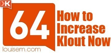 How to Increase Klout After Klout Changes – & Why You Care! | Google Plus ~≈~ G+ | Scoop.it