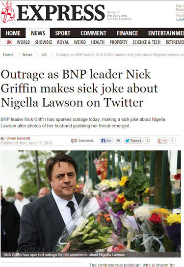 Simon Darby: More BNP Outrage | The Indigenous Uprising of the British Isles | Scoop.it