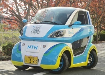 Lateral Moving Japanese EV Receives License Plate | Cars and Road Safety | Scoop.it