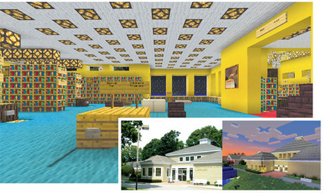 A Minecraft Library Scores Big: Mattituck, NY, Branch Is a Hit with Kids - The Digital Shift   Education and Library News   Scoop.it