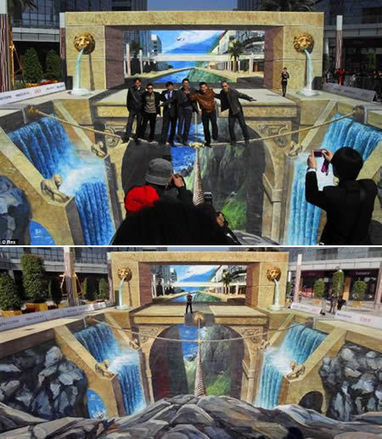 Another 15 Amazing 3D Street Illusions (3d street, street illusions) - ODDEE | The brain and illusions | Scoop.it