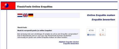 Online enquete maken thesistools