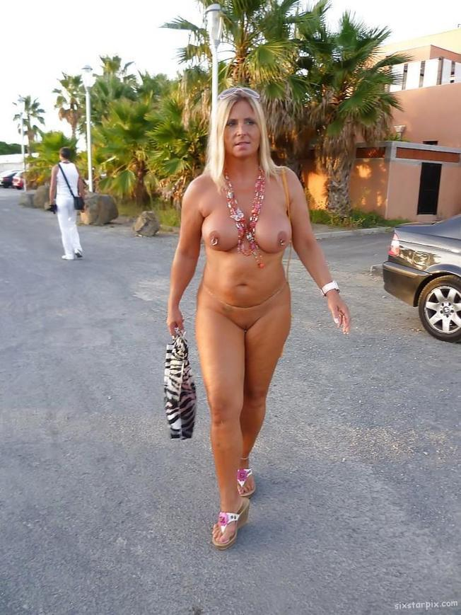 Deutsche Blonde Milf