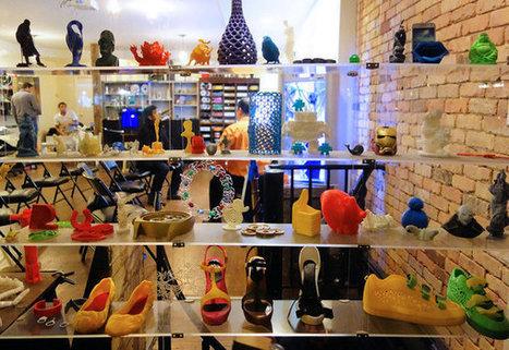 L'iMakr Store, le point de ralliement del'impression 3D à New York | Jisseo :: Imagineering & Making | Scoop.it