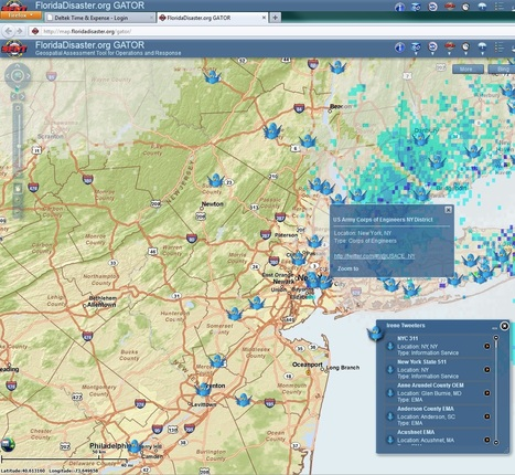 Engaging Citizens the Right Way: Government Uses Twitter During Hurricane Irene   Geospatial   Scoop.it