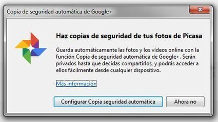 Google+ Auto Backup para escritorio nos permite hacer copias de nuestras imágenes y vídeos | Education Library and More | Scoop.it