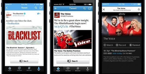 """Twitter TV: """"See It"""" button launches Comcast TV from tweets   Social TV & Second Screen Information Repository   Scoop.it"""