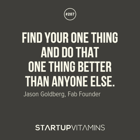 Scoop.it StartupVitamins: Quotes for Startup | Competitive Edge | Scoop.it