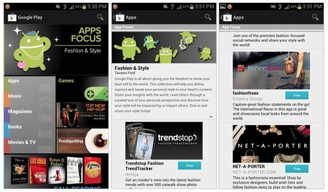 """App Curation and Discovery: Google Introduces Topical Collections of Great Apps with """"Apps Focus"""" in the Play Store 