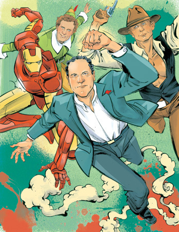 Jon Favreau Shares Five Years of Comic-Con Memories   On Hollywood Film Industry   Scoop.it