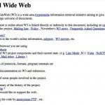 Hoy hace 21 años fue publicada la primera página web • ENTER.CO | A New Society, a new education! | Scoop.it