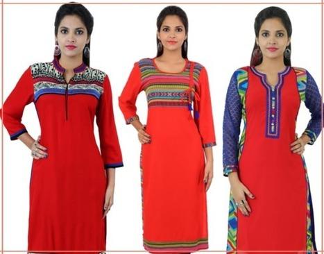 81866a75b Christmas   New Year Sale on Ethnic Kurtis