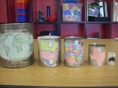 Nesting Cans Activity | Geography Education | Scoop.it