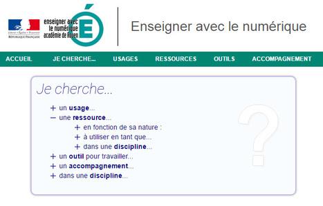 DANE Rouen : Enseigner avec le numérique - Eduscol | Usages numériques et Histoire Géographie | Scoop.it