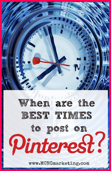 What are the Best Times to Pin on Pinterest? | Pinterest | Scoop.it