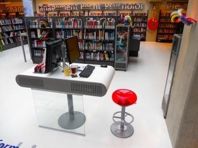 Pour du design inclusif en bibliothèque : le cas de la station d'aide à l'information et au lecteur   Caisse à outils   Scoop.it