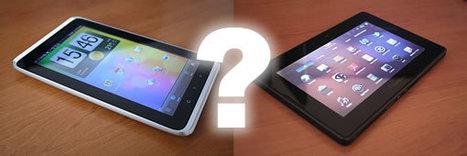 Tablettes : la débandade HP RIM et maintenant HTC ? | mlearn | Scoop.it