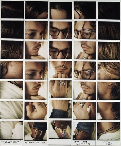 Celebrity Works : Maurizio Galimberti réinvente les portraits de stars Hollywoodiennes – Lense.fr | Art contemporain Photo Design | Scoop.it