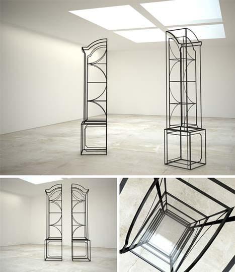 Read vs Unread: Self-Balancing, Book-Weighted Wall Shelf | Designs & Ideas on Dornob | Read Ye, Read Ye | Scoop.it