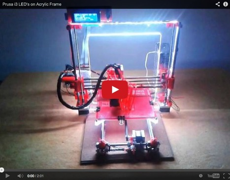 Light Up the Night with Your 3D Printer - 3D Printing Industry | 3D Printing in Manufacturing Today | Scoop.it