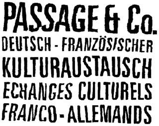 Passage & Co. - Echanges culturels franco-allemands en Europe | Hallo France,  Hallo Deutschland     !!!! | Scoop.it