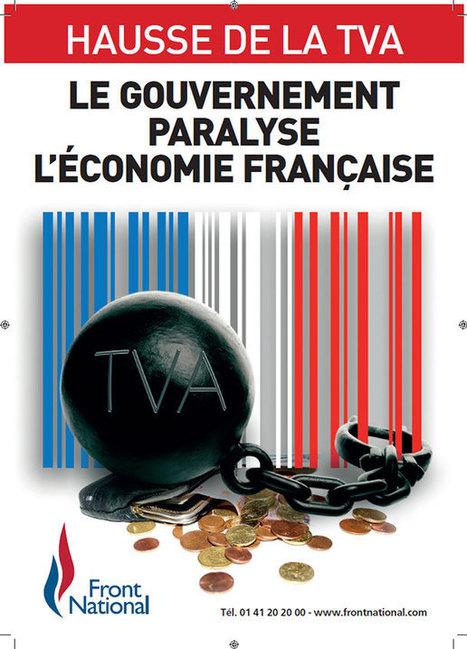 Nouveau tract : Hausse de la TVA – Le Gouvernement paralyse l'économie française ! #FN #RBM | Case départ : le film à voir absolument (vidéo) | Scoop.it
