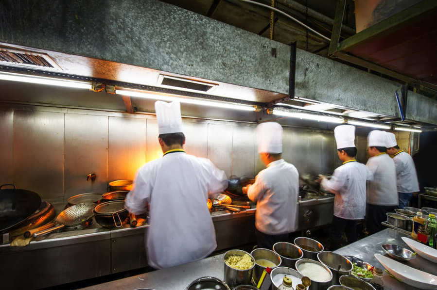 working in the kitchen area essay
