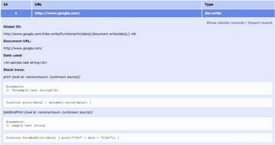 DOM Snitch, un détecteur de failles de sécurité pour site web proposé par Google | Time to Learn | Scoop.it