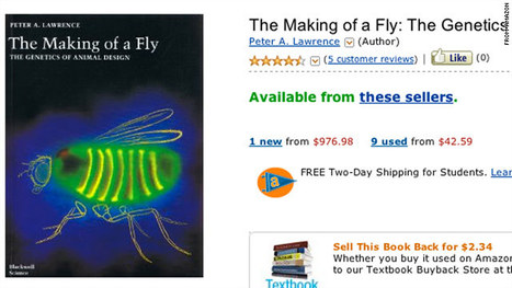 Would you pay $23.7 million (plus $3.99 shipping) for a scientific book about flies!? | Read Ye, Read Ye | Scoop.it