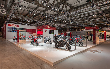 Ducati Display Stand by Point Studio | Ductalk Ducati News | Scoop.it