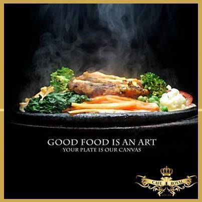 Cafe Royal India has a great taste for art! | Formula 1 Deals 2 | Scoop.it