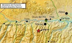 Aardbeving met een kracht van 3,2 op Richter schaal gemeten in Almería | La Gazzetta Di Lella - News From Italy - Italiaans Nieuws | Scoop.it