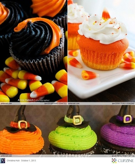 halloween cupcakes halloween inspired cupcakes scoopit - Halloween Inspired Cupcakes