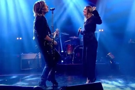 Keith Urban Rocks Out to 'The Fighter' With Sporty Spice [Watch] | Country Music Today | Scoop.it