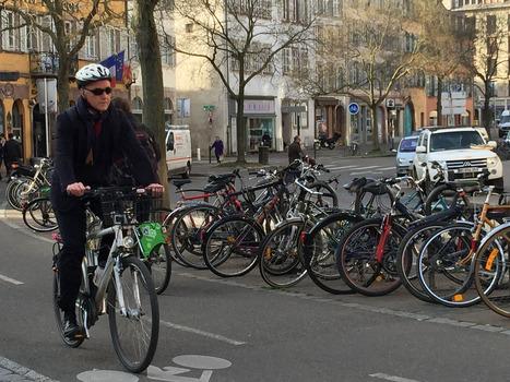 Un Strasbourgeois sur six va travailler à vélo | Planete DDurable | Scoop.it