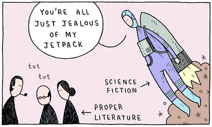 Is Genre Fiction Art? Pt 2: The difference between genre and literary ... | Literature & Psychology | Scoop.it
