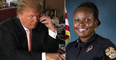 President Donald Trump Calls Husband Of Murdered Orlando Police Officer | Police Problems and Policy | Scoop.it