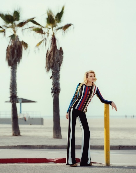 [editorial] Lily Donaldson by Tom Craig for Porter #8 Summer 2015 | Fashion & more... | Scoop.it