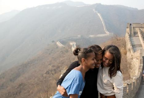 Malia et Sasha Obama, une enfance à la Maison Blanche | The Blog's Revue by OlivierSC | Scoop.it