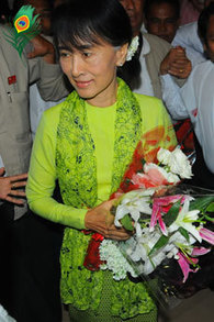 Suu Kyi to arrive in US capital Monday | The Blog's Revue by OlivierSC | Scoop.it