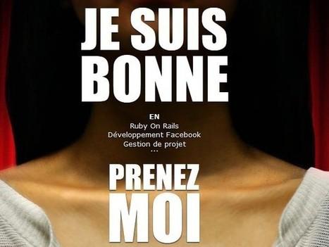 JeSuisBonne.fr: étudiants provoc et doués en com cherchent stages - Rue89   Digital easy   Scoop.it