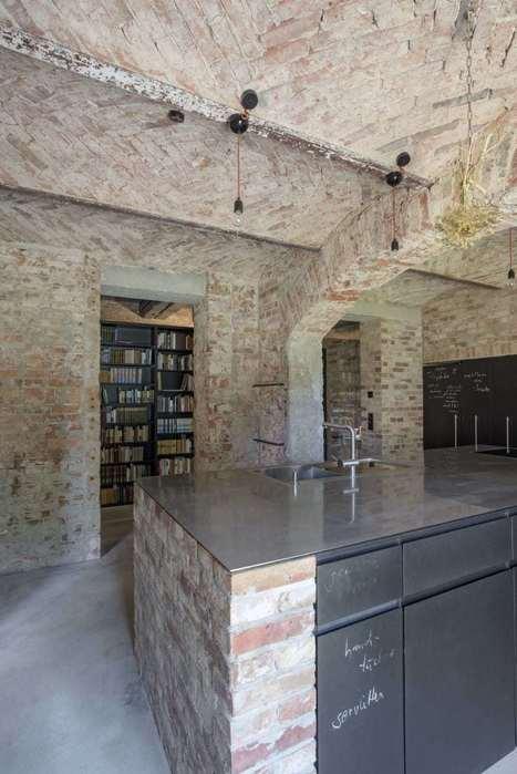 Wespi de Meuron Romeo architects, Jürgen Holzenleuchter · Umbau und Sanierung Backsteinhaus | Raw and Real Interior Design | Scoop.it