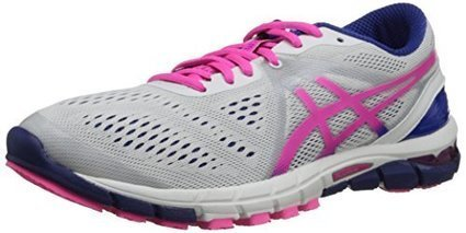 c3b9ba9c2c ASICS Women's Gel-Excel33 3 Running Shoe,White/Hot Pink/Blue,11 M US