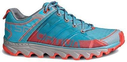 904c989c73df77 La Sportiva Helios Shoe - Women s Ice Blue   Coral 40