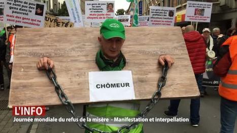 Namur: manifestation contre la pauvreté! | géographie collège | Scoop.it