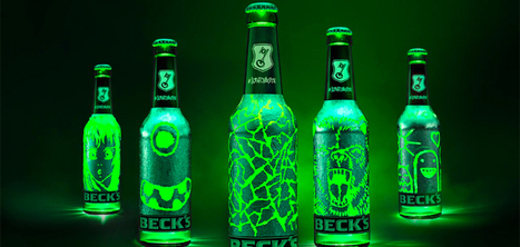 Une bouteille de bière qui se gratte pour la décorer avec les dessins de votre choix | streetmarketing | Scoop.it