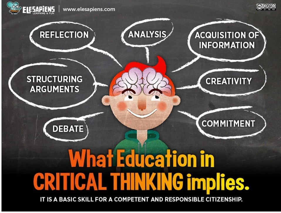eight elements of thought and reasoning Eight elements of thought and reasoning there are eight elements of thought in reasoning we often use more than one element at the same time for example, your point of view includes assumptions.
